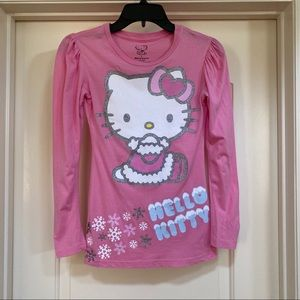 Hello Kitty Pink Long Sleeve for Girls